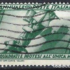Sellos: ITALIA 1932 - 10º ANIV. DE LA MARCHA SOBRE ROMA - USADO. Lote 218831336