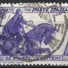 Francobolli: ITALIA 1932 - 10º ANIV. DE LA MARCHA SOBRE ROMA - USADO. Lote 218831713