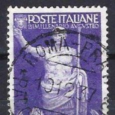 Francobolli: ITALIA 1937 - 2000 ANIV. DEL NACIMIENTO DEL EMPERADOR AUGUSTO CÉSAR - USADO. Lote 218855070