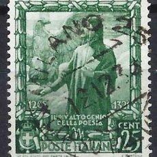 Francobolli: ITALIA 1938 - PROCLAMACIÓN DEL IMPERIO - USADO. Lote 218855826
