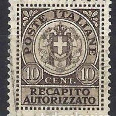 Francobolli: ITALIA 1940 - SELLO DE PAGO DE DERECHOS - USADO. Lote 219085313