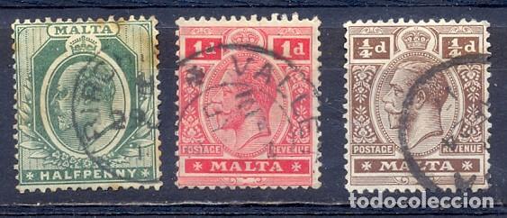 MALTA,, LOTE DE SELLOS USADOS (Sellos - Extranjero - Europa - Italia)