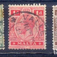 Sellos: MALTA,, LOTE DE SELLOS USADOS. Lote 219704663