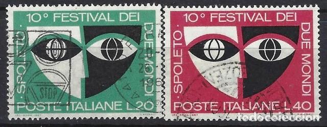 ITALIA 1967 - 10º FESTIVAL DE LOS DOS MUNDOS, SPOLETO, S.COMPLETA - USADOS (Sellos - Extranjero - Europa - Italia)