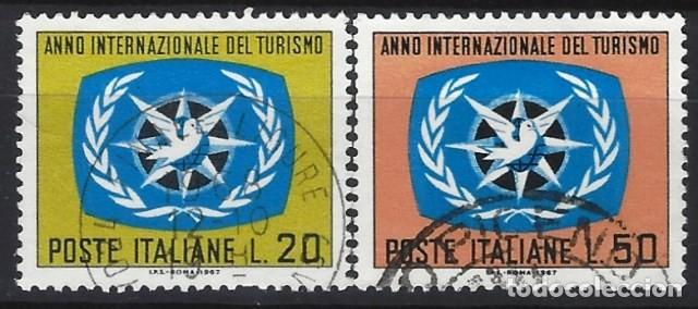 ITALIA 1967 - AÑO INTERNACIONAL DEL TURISMO, S.COMPLETA - USADOS (Sellos - Extranjero - Europa - Italia)