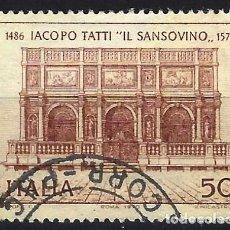 Francobolli: ITALIA 1970 - 400º ANIVERSARIO DE LA MUERTE DE TATTI - USADO. Lote 220819870