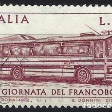 Francobolli: ITALIA 1972 - DÍA DEL SELLO - USADO. Lote 220823896
