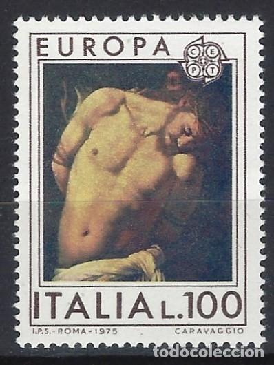 ITALIA 1975 - EUROPA, CUADROS - MNH** (Sellos - Extranjero - Europa - Italia)