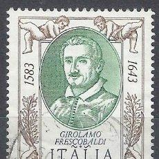 Selos: ITALIA 1983 - 400º ANIVERSARIO DEL NACIMIENTO DE FRESCOBALDI - USADO. Lote 220943507
