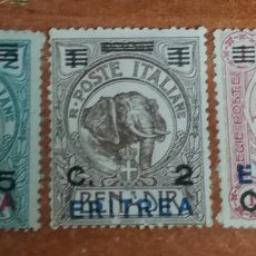 Sellos: ERITREA AÑO 1924(COLONIA ITALIANA). Lote 221957676