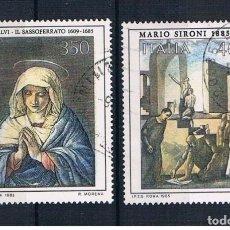 Sellos: SELLOS USADOS DE ITALIA YT 1662/ 63. Lote 222252815