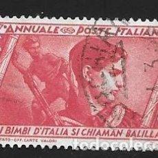 Timbres: ITALIA. Lote 225190515