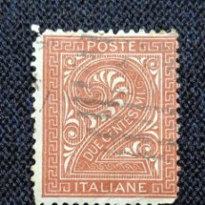 Sellos: ITALIA 15 CENTS REY VICTOR EMMANUEL III, 1912.. Lote 225759760