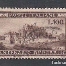 Sellos: ITALIA, 1949 YVERT Nº 537, CASA DEL VASCELLO A ROMA. Lote 232883950