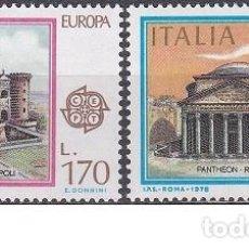 Sellos: LOTE DE SELLOS NUEVOS - ITALIA 1978 - EUROPA - AHORRA GASTOS COMPRA MAS SELLOS. Lote 233604165