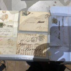Timbres: SOBRE CARTAS CON SELLOS ROMA .ITALIA 1850 -1866 . VER FOTOS. Lote 233886605