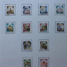Sellos: 22 SELLOS CASTILLOS DE ITALIA (1980-1990). Lote 235676380