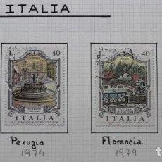 Sellos: 4 SELLOS FONTANAS FUENTES DE ITALIA 1974-1976. Lote 235677460