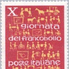 Sellos: FRANCOBOLLO - REP. ITALIA - POSTAL DEVELOPMENT - 25 L - 1968 - USATO. Lote 236582755