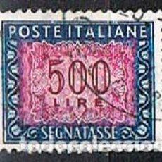 Sellos: ITALIA, SELLO DE TASA-IVERT Nº 78 (AÑO 1.947-54), USADO. Lote 236622475