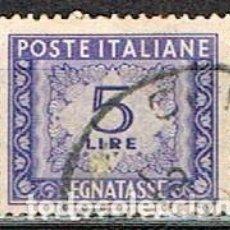 Sellos: ITALIA, SELLO DE TASA-IVERT Nº 69 (AÑO 1.947-54), USADO. Lote 236622750