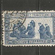 Sellos: ITALIA YVERT NUM. 190 USADO. Lote 239822540