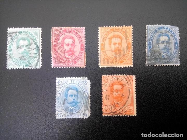 ITALIA 1879/91, HUMBERTO I (Sellos - Extranjero - Europa - Italia)