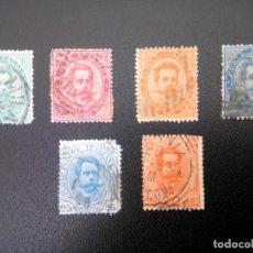 Sellos: ITALIA 1879/91, HUMBERTO I. Lote 241439210