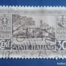Sellos: SELLO DE ITALIA. 1.931.. Lote 244536905
