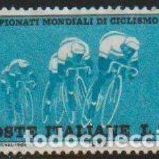 Sellos: ITALIA 1962 SCOTT 858 SELLO º DEPORTES CAMPEONATO MUNDIAL DE CICLISMO EN RUTA MICHEL 1127 YVERT 869. Lote 244666930