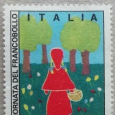Sellos: 1975. ITALIA. 1250. DISEÑOS INFANTILES. USADO.. Lote 244998405