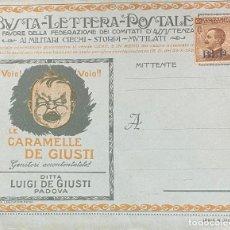 Sellos: ITALIA, CARTA ENTERO POSTAL. Lote 245171870