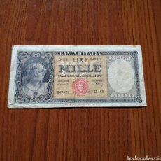 Sellos: BILLETE 1000 LIRAS 1947 ITALIA. Lote 245452480