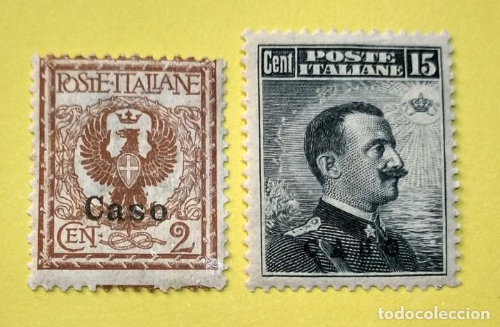 ITALIA, SELLOS POSTALES DE CASO 1912 (Sellos - Extranjero - Europa - Italia)
