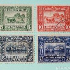 Sellos: ITALIA SELLO POSTAL DE COLONIA ERITREA 1910. Lote 248633240