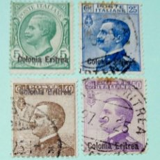 Sellos: ITALIA SELLO POSTAL DE COLONIA ERITREA 1910. Lote 248633890