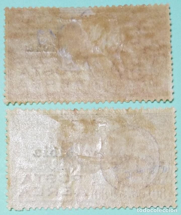 Sellos: ITALIA SELLOS POSTALES AEREOS DE LIBIA 1928 Tipo de correo aéreo Leoni - Foto 2 - 248820880
