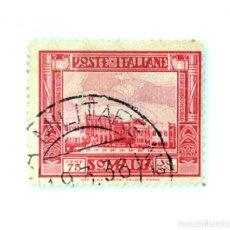 "Sellos: SELLO POSTAL SOMALIA COLONIA ITALIANA 1936, 75 CENT, SERIE ""PICTÓRICA"" 2º EDICIÓN , USADO. Lote 249311610"