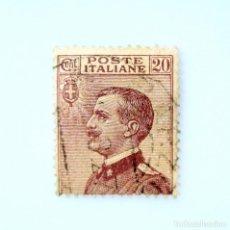 Sellos: SELLO POSTAL ITALIA 1926, 20 CENT, EFIGIE DE VITTORIO EMANUELE III A LA IZQUIERDA, MICHETTI A LA IZQ. Lote 251266870