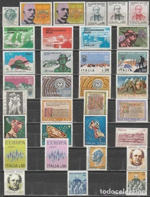 ITALIA. 1972. AÑO COMPLETO . 16 SERIES **. MNH (21-259) (Sellos - Extranjero - Europa - Italia)