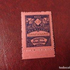 Sellos: CANFANARO ISTRIA ITALIA SEGUNDA GUERRA MUNDIAL WWII.. Lote 253218040