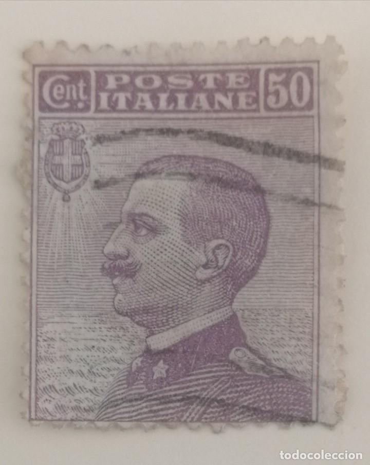Sellos: 5 Sellos de Italia. Victor Manuel II. - Foto 3 - 253502060