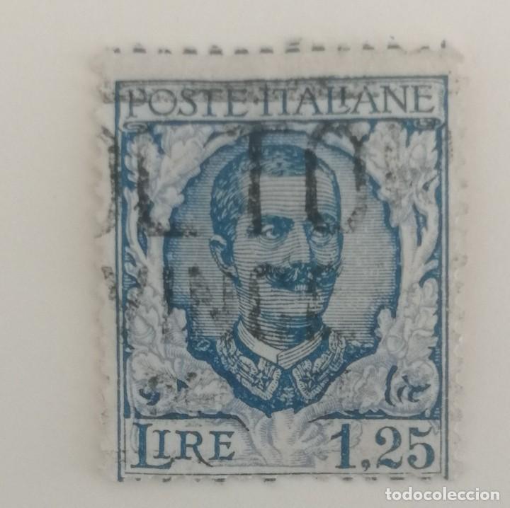Sellos: 5 Sellos de Italia. Victor Emanuelle III. - Foto 3 - 253502470
