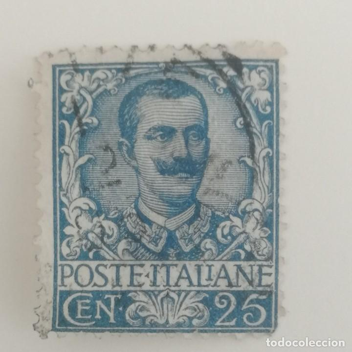 Sellos: 5 Sellos de Italia. Victor Emanuelle III. - Foto 5 - 253502470