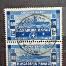 Sellos: ITALIA. Lote 254088115