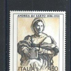 Sellos: ITALIE N°1728/29** (MNH) 1986 - ART ITALIEN TABLEAUX. Lote 254479880