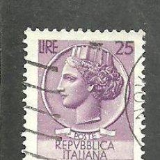 Sellos: ITALIA 1955 - YVERT NRO. 716 - USADO. Lote 254631505