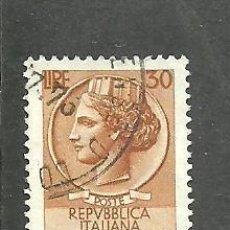 Sellos: ITALIA 1955 - YVERT NRO. 716A - USADO. Lote 254631580