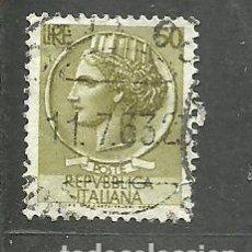 Sellos: ITALIA 1955 - YVERT NRO. 717B - USADO. Lote 254631710