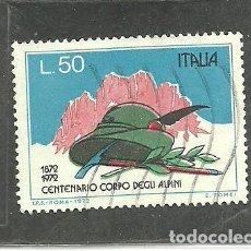 Sellos: ITALIA 1972 - YVERT NRO. 1102 - USADO. Lote 254632135